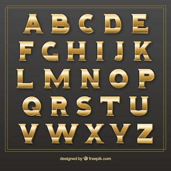 Tipografía de Oro