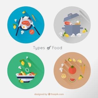Tipos de comida