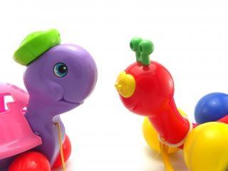 Tirar de los juguetes