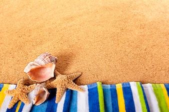 Toalla de playa veraniega