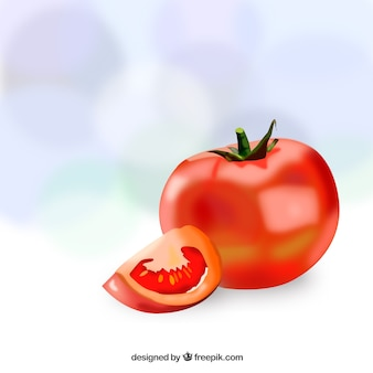 Tomate realista