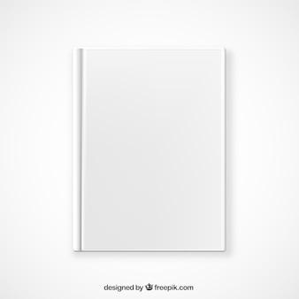 Vista superior libro maqueta