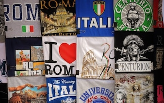 Turísticas camisetas