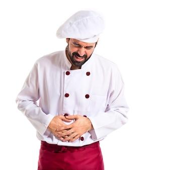 Trabajo cocina uniforme delgado gerente