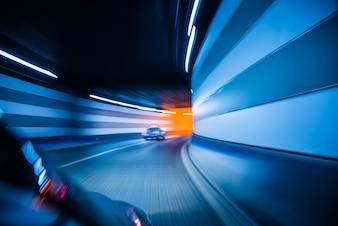Tráfico en un túnel