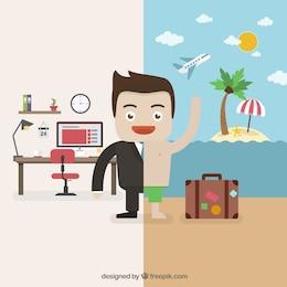 Transición a vacaciones