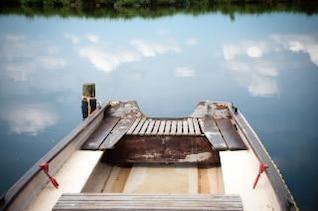 transporte en bote