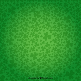 Tréboles fondo en color verde