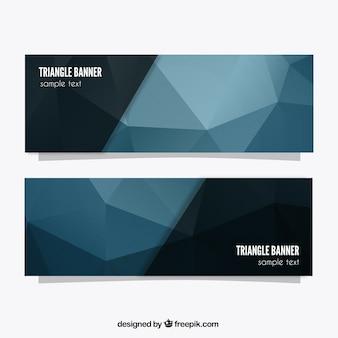 Banners de triángulos