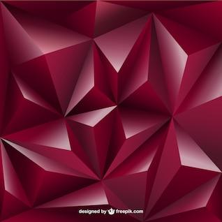 Triángulos 3D de fondo