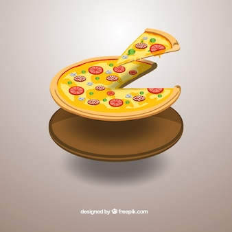 Trozo de pizza