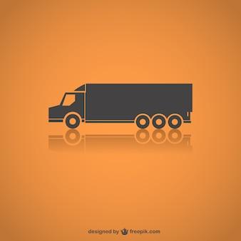 Silueta de camión