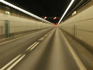 túnel, la luz
