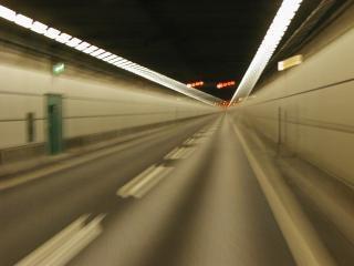 túnel, rápido