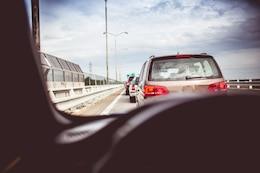 Un atasco de tráfico