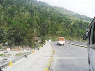 Un camino en Manali