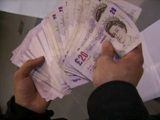 Una gran cantidad de libras