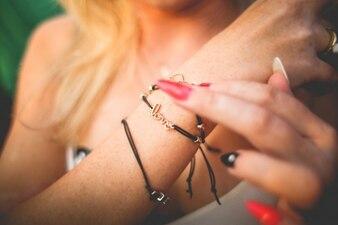 Una pulsera de amor