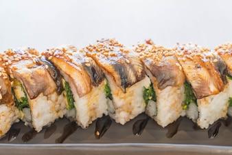Unagi sushi rollos