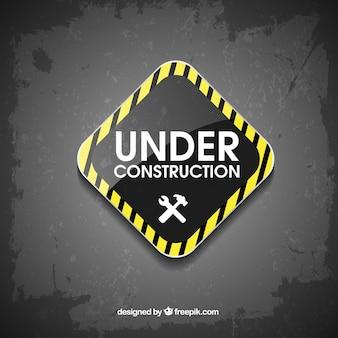 Señal de estamos en construcción