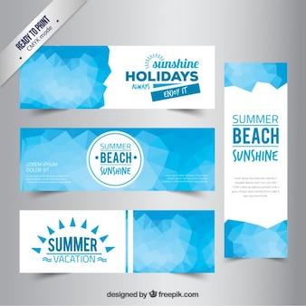 Vacaciones de verano banners