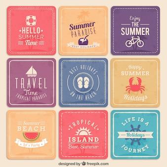 Vacaciones de verano pósters