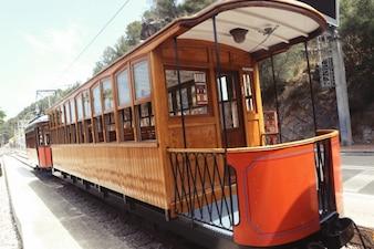 Vagón de tren clásico