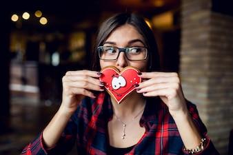Valentines día de descanso datar pareja amor