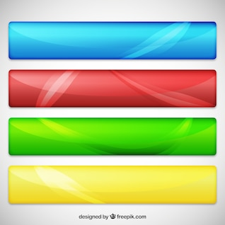 Variedad de banners web