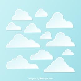 Variedad de nubes