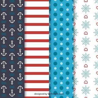 Variedad de patrones náuticas