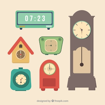 Variedad de relojes