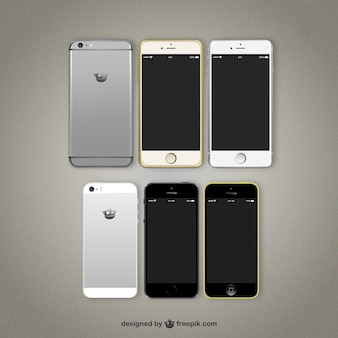 Variedad de teléfonos móviles