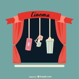 Vector artístico cine