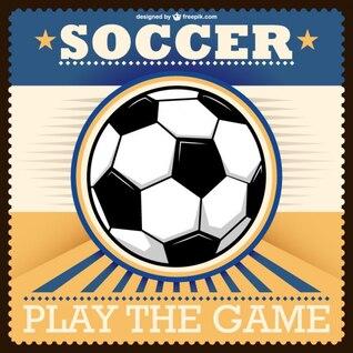 Vector balón de fútbol