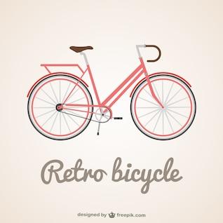 Vector bicicleta clásica