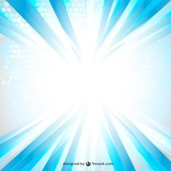 Vector rayo de luz azul