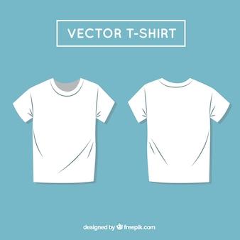 Vector camiseta