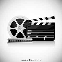 Vector conceptual de cine
