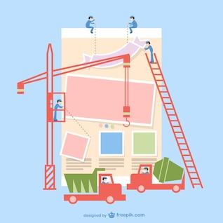 Vector construcción de aplicaciones