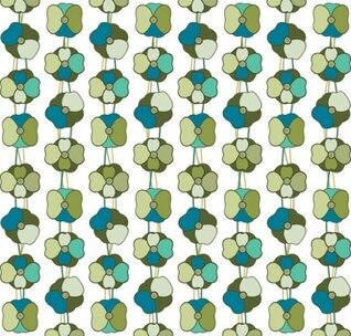 Vector de amapolas-sin patrón de fondo