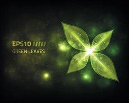 Vector de archivo verdes hojas ilustración de la energía