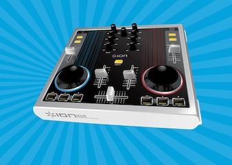 vector de audio mixer