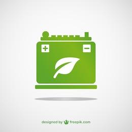Vector de batería ecológica