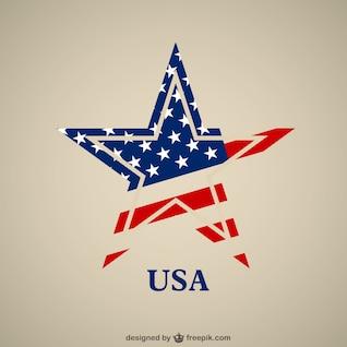Vector de estrella de Estados Unidos