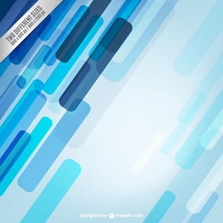 Vector de fondo abstracto con formas azules