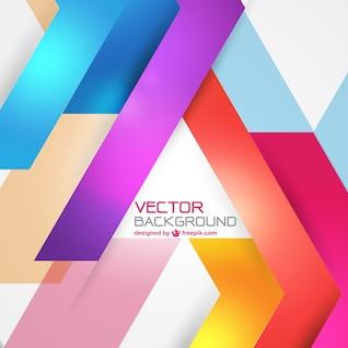 Vector de fondo con formas de colores