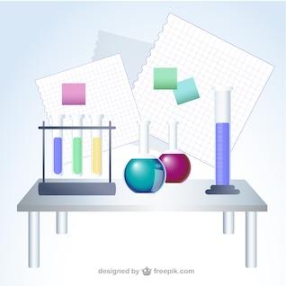 Vector de ilustraciones de ciencia