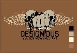vector de t-shirt de diseño 2