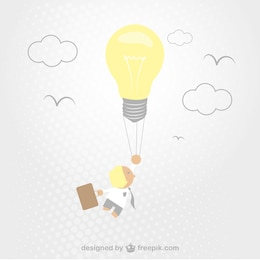 Vector dibujo de idea creativa